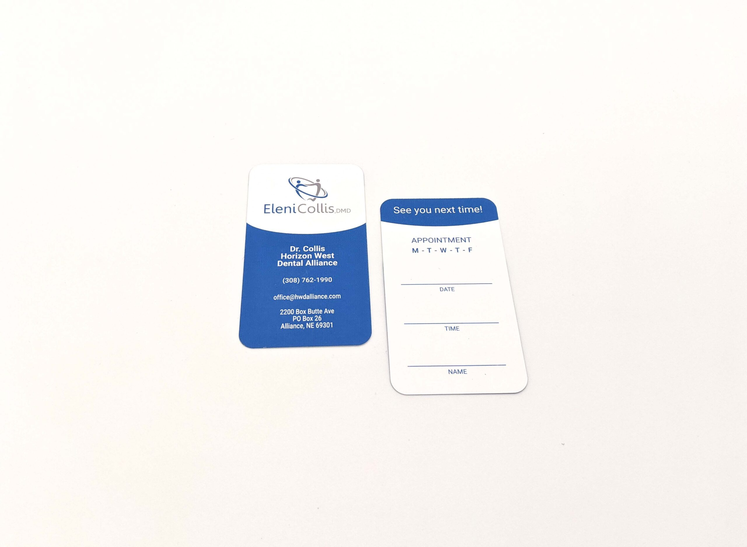 Horizon West Dental Business Cards 1