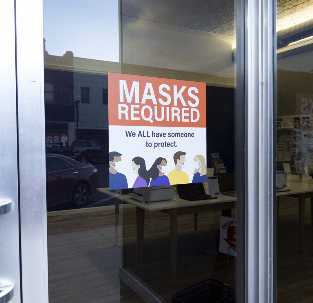 PCM – Masks Sign
